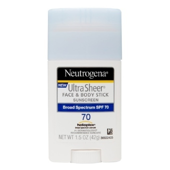 Kem chống nắng Neutrogena Ultra Sheer Face & Body Stick Sunscreen SPF 70