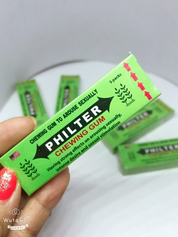 Kẹo kích dục nữ Philter Chewing Gum Mỹ